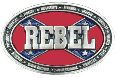 Boucle de ceinture - Belt Buckle ME-37-S Rebel Silver