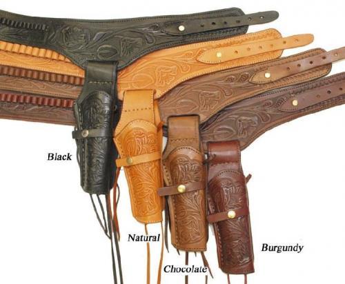 Holster et ceintures simples droitiers