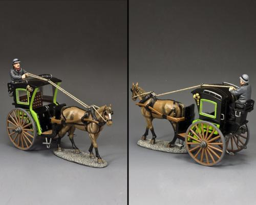 WoD067 - The Green Hansom Cab Set - disponible début mars