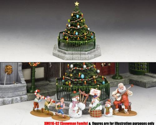 XM016-03 - Dickens Village Christmas Tree