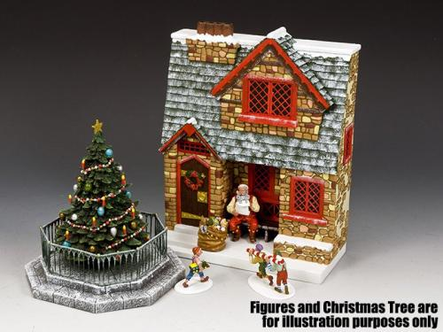 XM019-02 - Santa's Christmas Cottage - disponible début janvier