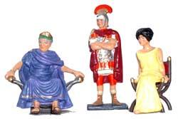 Roman Gladiators royal box set - pas de stock